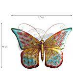 Papillon en métal Miami 61 cm preview2