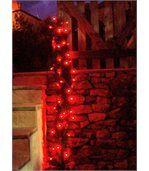 Guirlande solaire 60 leds rouges à clignotements 7m preview2