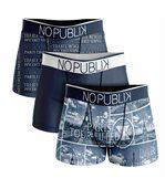 No Publik - Lot De 3 Boxers Microfibre Homme Tour Eiffel preview1