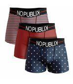 No Publik - Lot De 3 Boxers Microfibre Homme Stars & Stripes preview1