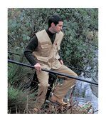 Gilet sans manches reporter multi-poches polycoton Result preview2