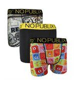 No Publik - Lot De 3 Boxers Microfibre Homme Pacman Icon & Vintage preview1