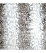 Plaid fausse fourrure Laponie gris preview4