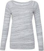 SWEAT-SHIRT FEMME TRIBLEND Light Grey Marble preview1