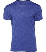 T-shirt Triblend col rond Homme Heather Royal Blue preview1