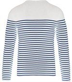 Marinière manches longues Striped White / Navy preview2