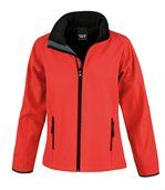 Veste Softshell Femme Printable Red / Black preview1