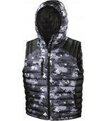 Bodywarmer Doudoune Camo Camo Charcoal / Black preview1