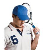 Casquette sport K-up Navy / White preview2