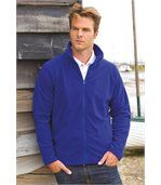 VESTE MICROPOLAIRE LÉGÈRE Royal Blue preview3