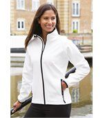 Veste Softshell Femme Printable Yellow / Black preview3