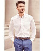 Chemise manches longues oxford Oxford Blue preview3