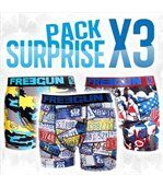 Boxers Homme En Coton Pack Surprise Freegun