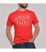 T-shirt homme Amazing Tee rouge et beige - Tee shirt manches courtes preview1