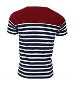 T-shirt rugby Marinière haut bordeaux France preview3