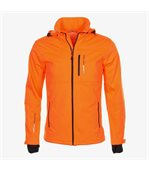 Peak Mountain - Blouson softshell homme CANNE- orange preview1