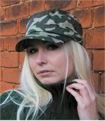 Casquette army urban camo - RC059 - camouflage vert olive preview3