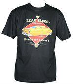 T-shirt homme manches courtes - Voiture américaine 11285 - Noir preview2