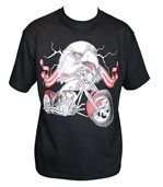 T-shirt homme manches courtes - aigle USA - 13135 - noir preview1