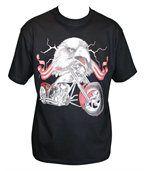 T-shirt homme manches courtes - aigle USA - 13135 - noir preview2