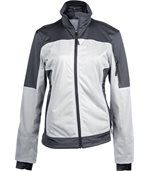 Veste softshell bicolore - K416 - blanc - femme preview1