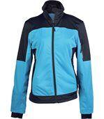 Veste softshell bicolore - K416 - bleu - femme preview2