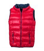 Bodywarmer duvet doudoune sans manches anorak homme - JN1062 - rouge preview1
