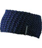 Bandeau crocheté extra-large - MB7947 - bleu marine preview2