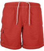 short de bain Homme - PA119 rouge preview2