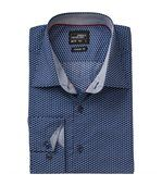 chemise manches longues - JN672 - HOMME - bleu marine - motifs wings preview1