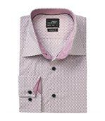 chemise manches longues - JN672 - HOMME - blanc rouge - motifs wings preview1