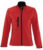 Veste softshell imperméable respirante femme 46800 - rouge preview1
