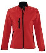 Veste softshell imperméable respirante femme 46800 - rouge preview2
