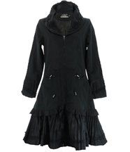 Manteau trench long imperméable ANGELINA