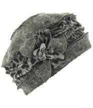 Bonnet femme hiver laine ARNOLD gris