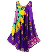 Robe  sans manches  - MEXICO - violet