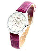 Montre Femme Bracelet Cuir Violet ONLYOU 2420