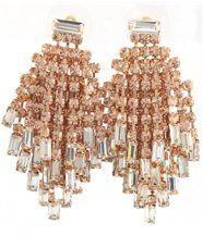 Boucles d oreilles femme Rosé DAPHNEE et Cie 257