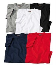Lot de 5 Tee-Shirts Confort