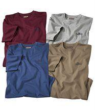 Set van 4 T-shirts 'New Frontier'