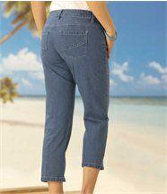 Pantacourt en Jeans Stretch