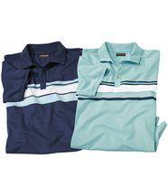 2er-Pack Poloshirts Summer Sport