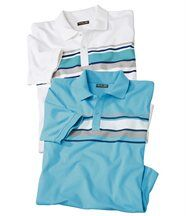 Lot de 2 Polos Pacific Leisure