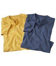 Set van twee T-shirts Calenzana