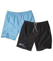 Lot de 2 Shorts de Bain Eden Mood