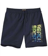 Sportliche Shorts aus Microfaser