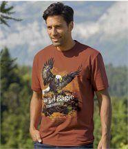 Tee-shirt Imprimé Pygargue