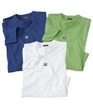 Set van 3 'Med Sailing' T-shirts