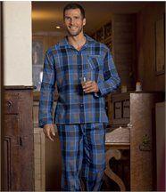 Pyjama Carreaux Flanelle