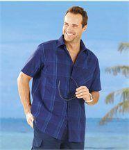 Hemd Blue Stripes